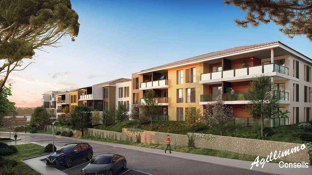 Appartement T3 neuf avec terrasse et parking - 83300 - Les Programmes immobiliers