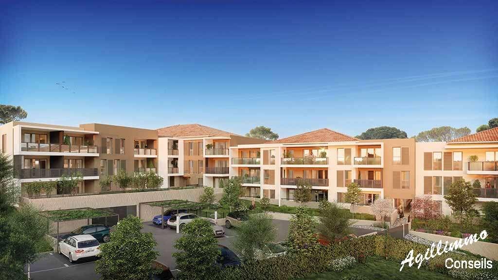 Appartement neuf T2 avec box et terrasse - DRAGUIGNAN - Les Programmes neufs