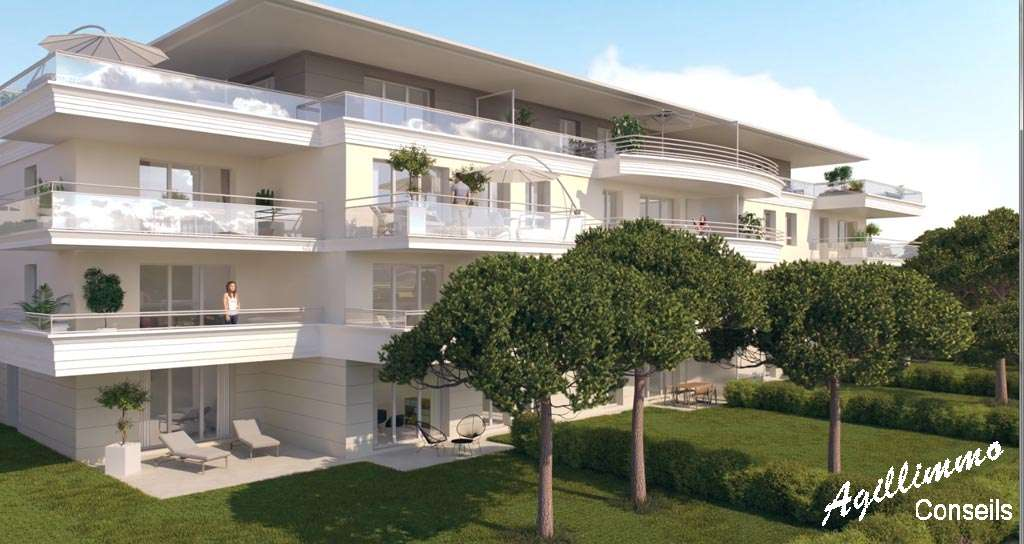 Appartements neufs T2 T3 T4 Le Domaine du Lac - PUGET SUR ARGENS - Projets des promoteurs