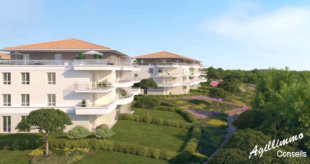 Appartements neufs T2 T3 T4 Le Domaine du Lac - PUGET SUR ARGENS - Les Programmes dansle sud