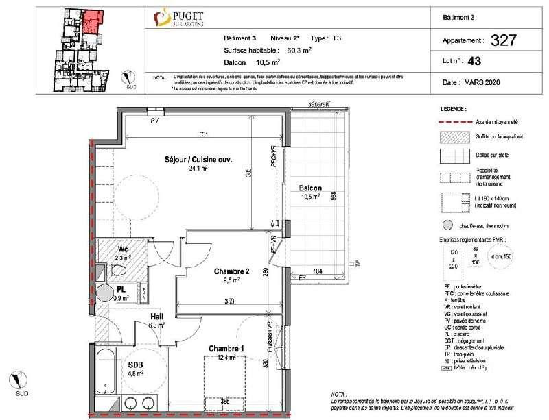 Appartement avec terrasse - PUGET SUR ARGENS - Les Programmes neufs